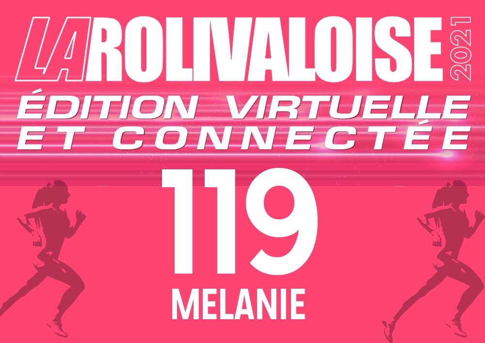 Voisin Mélanie - Dossard n°119