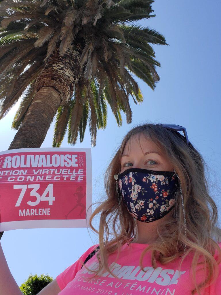 Une Rolivaloise à Los Angeles.