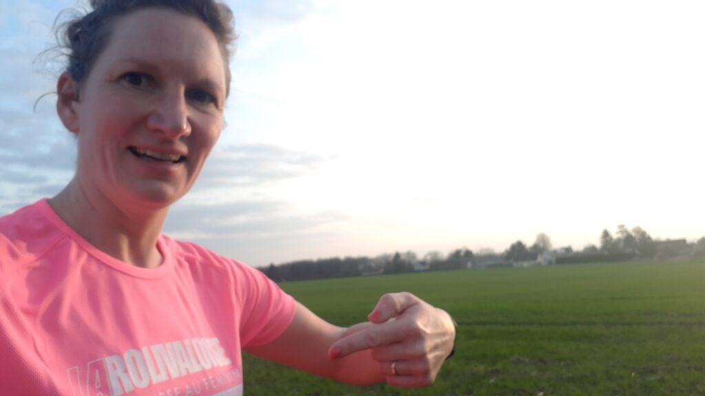 Le Covid et la santé des copines fait que j'ai fait cette course de 10 km seule mais j'ai eu une grande pensée pendant ces km pour toutes les femmes qui se battent contre cette fichue maladie et souligne leur courage. Vous étés toutes des femmes exceptionnelles ! ❤