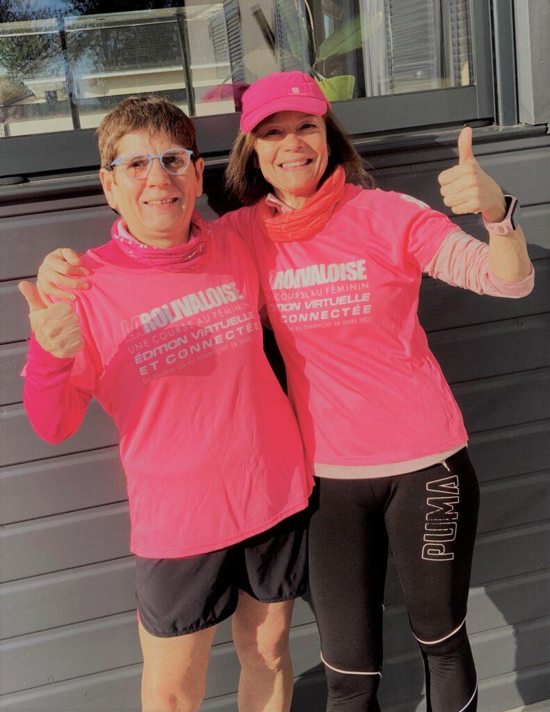 """Myriam Krolewicz - Dossard n°3006 - """"Chaque petit km parcouru sera le bienvenu pour avancer dans la lutte contre le cancer du sein ... Alors, foncez les filles, sportives ou pas ... la solidarité va payer !!!"""""""