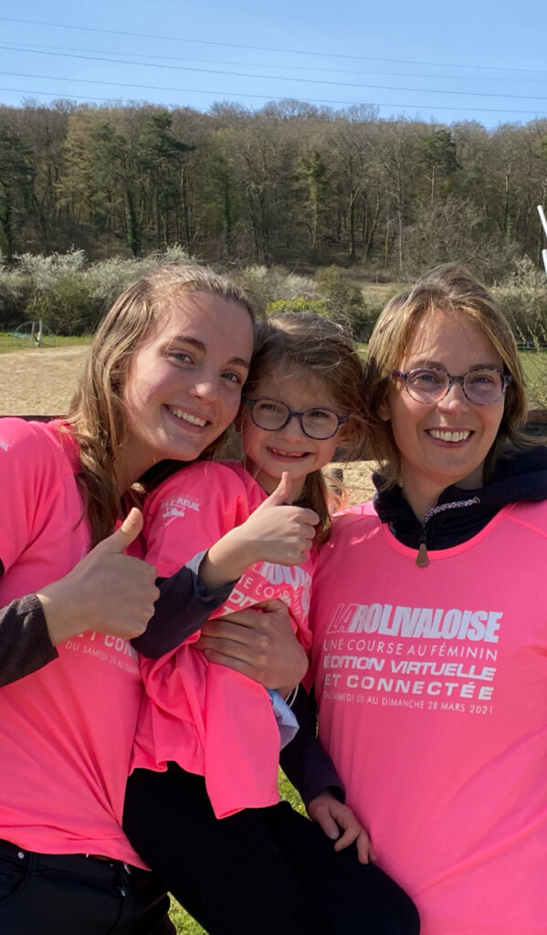 Cumul de nous 3 : 61km + 5km + 22 km = 88 km Bravo mes filles ! Bravo à toutes !