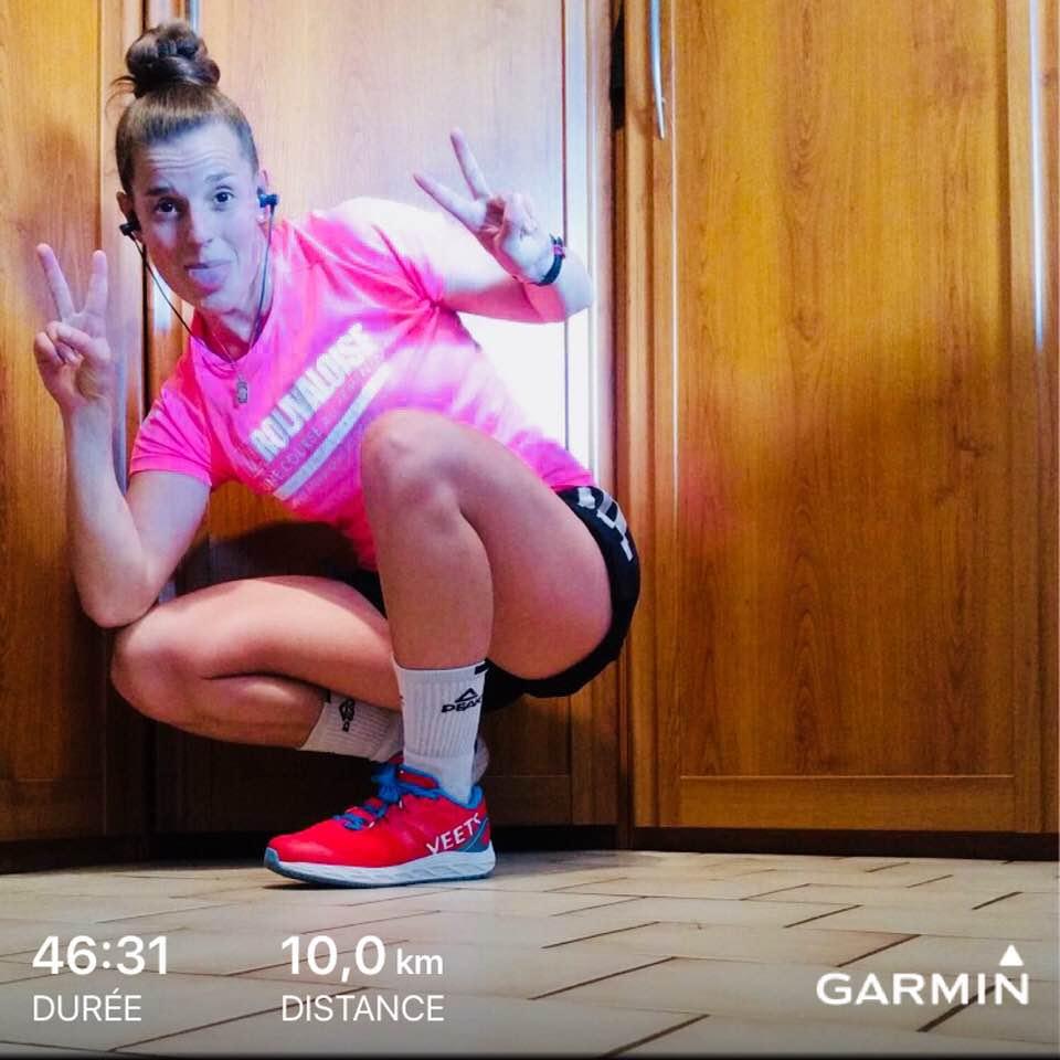 Mon temps sur 10KM Go Go Go dernier Week End de Run pour la Roli !!!