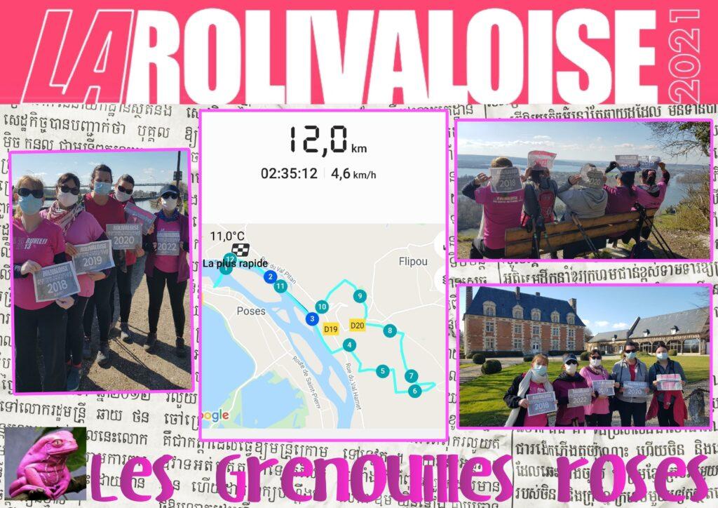 Les Grenouilles Roses - Dossards n°2018,2019,2020,2021 & 2022