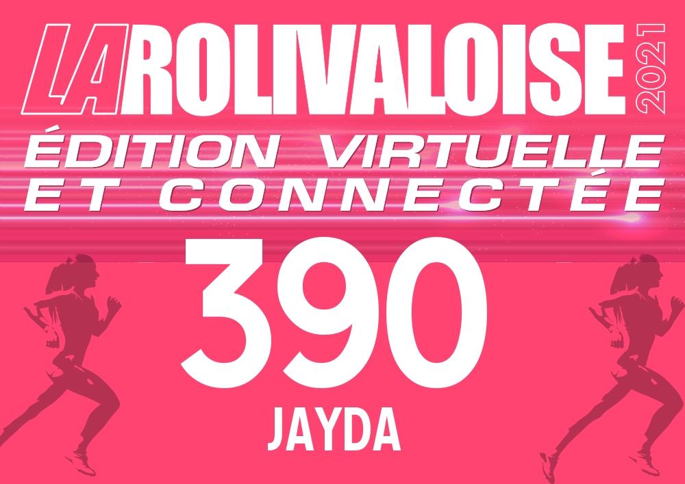 Jayda Azzouz - Dossard n°390